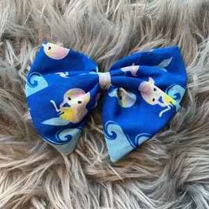 Mermaid hair bow